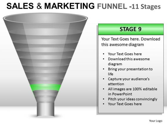 Download Present Strategy Funnel PowerPoint Slides And Ppt Diagram Templates
