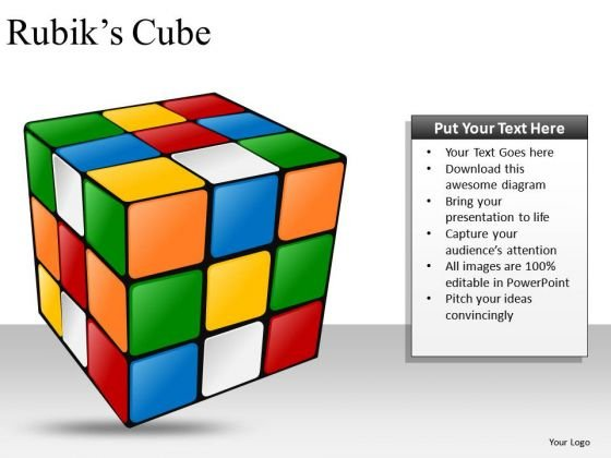 Download Rubiks Cube PowerPoint Slides And Ppt Diagram Templates