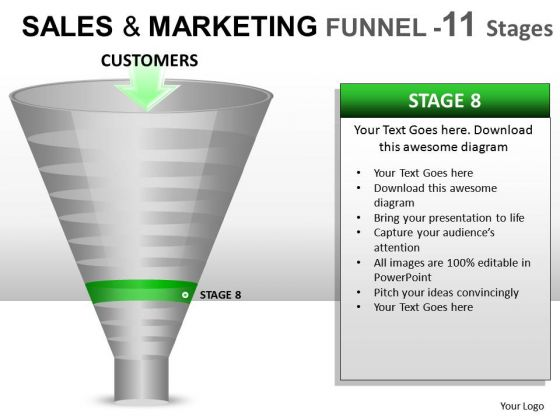 Download Sales Strategy Funnel 11 PowerPoint Slides And Ppt Diagram Templates