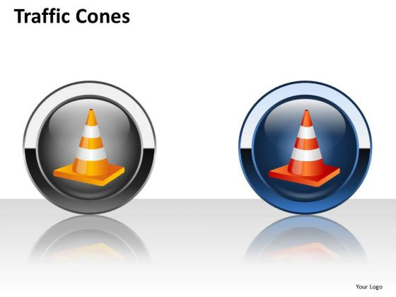 Download Traffic Cones PowerPoint Slides And Ppt Diagram Templates