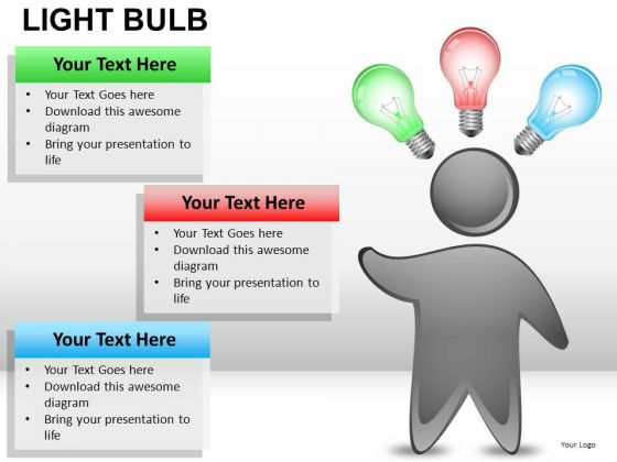 Drawing Light Bulb PowerPoint Slides And Ppt Diagram Templates