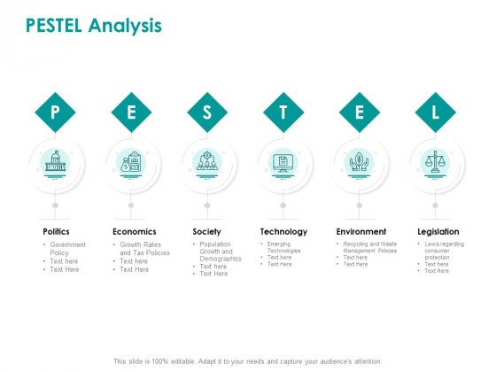 EMM Solution PESTEL Analysis Clipart PDF