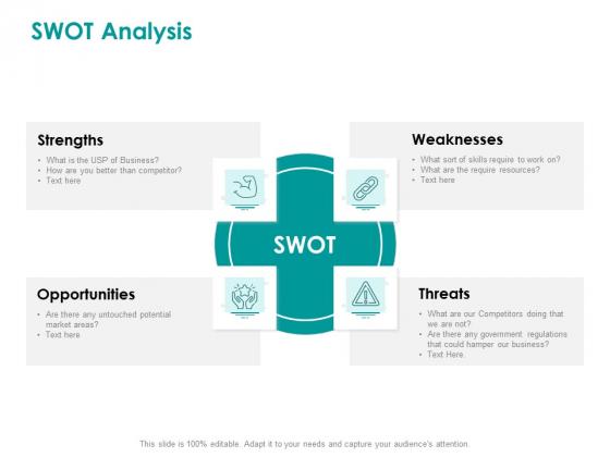 EMM Solution SWOT Analysis Ppt Summary Deck PDF
