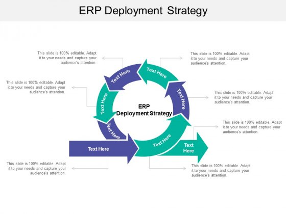 ERP Deployment Strategy Ppt PowerPoint Presentation Outline Slides Cpb
