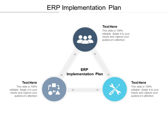 ERP Implementation Plan Ppt PowerPoint Presentation Infographic Template Examples Cpb
