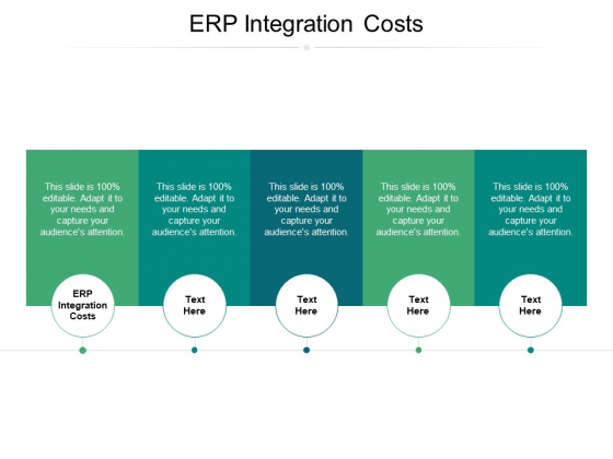 ERP Integration Costs Ppt PowerPoint Presentation Infographic Template Model Cpb
