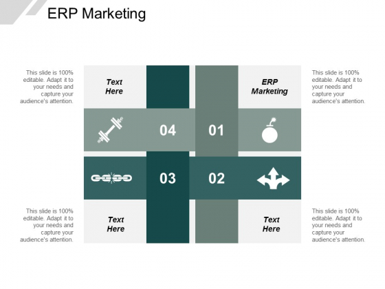 ERP Marketing Ppt PowerPoint Presentation Pictures Images Cpb