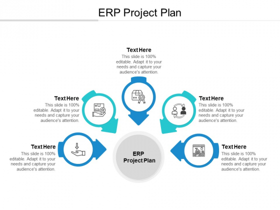 ERP Project Plan Ppt PowerPoint Presentation Outline Graphics Template Cpb