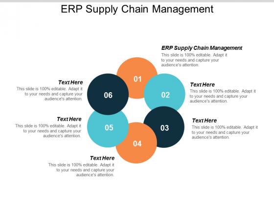ERP Supply Chain Management Ppt PowerPoint Presentation Styles Master Slide Cpb