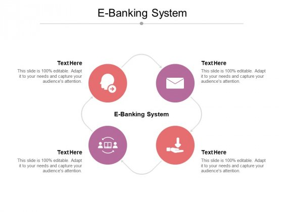 E Banking System Ppt PowerPoint Presentation Styles Clipart Cpb