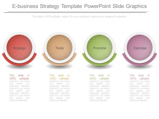 E Business Strategy Template Powerpoint Slide Graphics