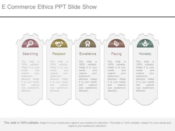 E Commerce Ethics Ppt Slide Show