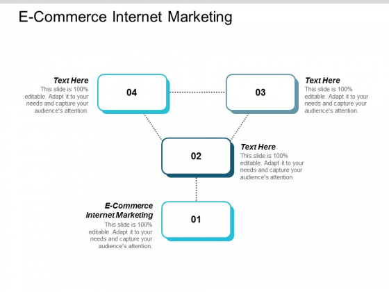 E Commerce Internet Marketing Ppt Powerpoint Presentation Summary Elements Cpb
