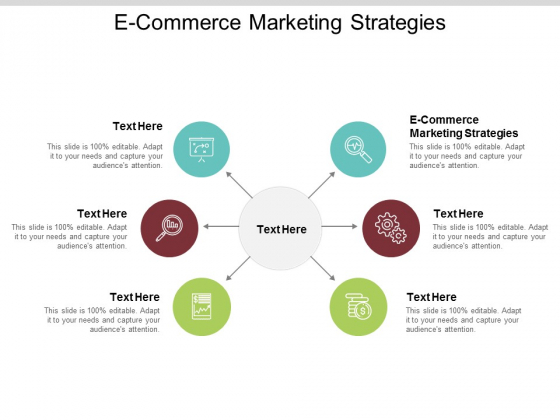 E Commerce Marketing Strategies Ppt PowerPoint Presentation File Ideas Cpb
