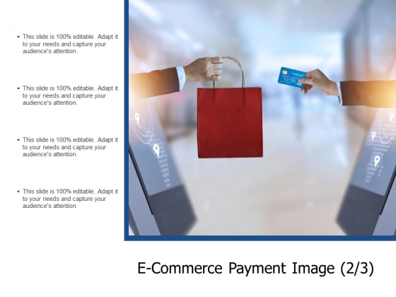 E Commerce Payment Image Marketing Ppt PowerPoint Presentation Layouts Layout Ideas