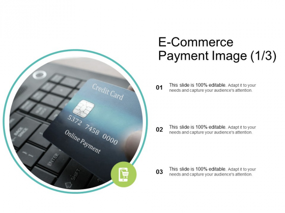 E Commerce Payment Image Online Payment Ppt PowerPoint Presentation Layouts Example Topics