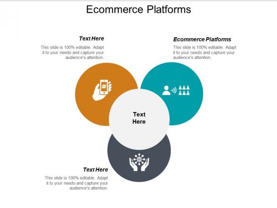 E Commerce Platforms Ppt PowerPoint Presentation Files Cpb