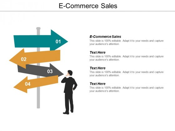 E Commerce Sales Ppt PowerPoint Presentation Summary Display Cpb