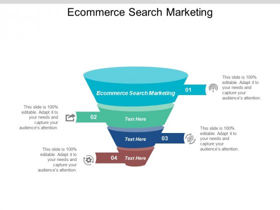 E Commerce Search Marketing Ppt PowerPoint Presentation Summary Slides Cpb
