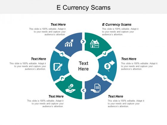 E Currency Scams Ppt PowerPoint Presentation Outline Graphics Template Cpb
