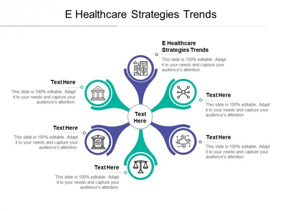 E Healthcare Strategies Trends Ppt PowerPoint Presentation Summary Graphics Cpb
