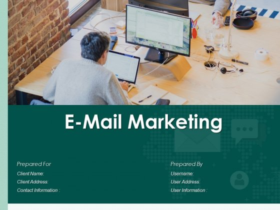 E Mail Marketing Proposal Ppt PowerPoint Presentation Complete Deck With Slides