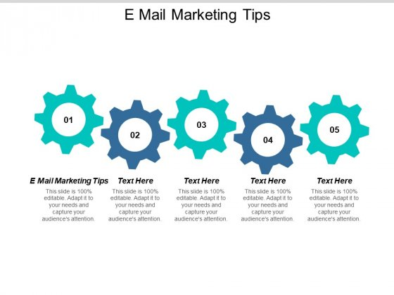 E Mail Marketing Tips Ppt PowerPoint Presentation Infographic Template Background Cpb