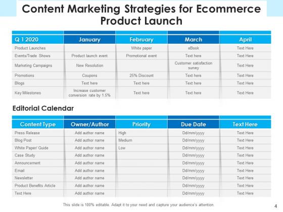 E_Marketing_Launch_Checklist_Ppt_PowerPoint_Presentation_Complete_Deck_Slide_4