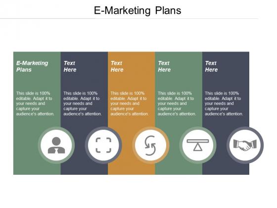 E Marketing Plans Ppt PowerPoint Presentation Model Vector Cpb