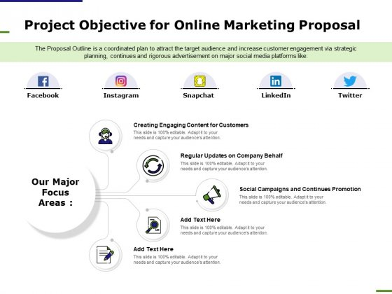 E_Marketing_Project_Objective_For_Online_Marketing_Proposal_Ppt_Professional_Background_Designs_PDF_Slide_1