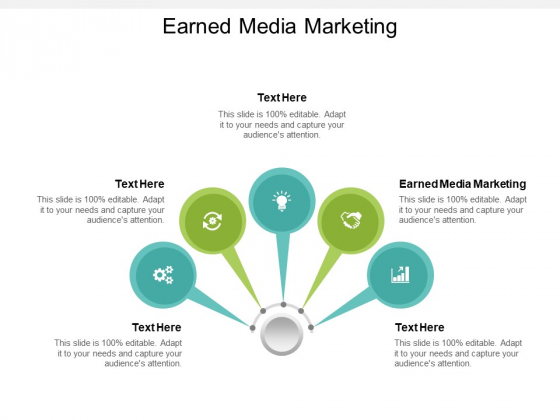 Earned Media Marketing Ppt PowerPoint Presentation Styles Deck Cpb