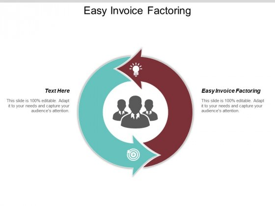Easy Invoice Factoring Ppt PowerPoint Presentation Pictures Show Cpb