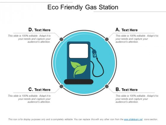 Eco Freindly Gas Station Ppt PowerPoint Presentation Gallery Mockup