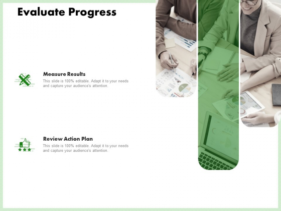 Eco Friendly And Feasibility Management Evaluate Progress Demonstration PDF