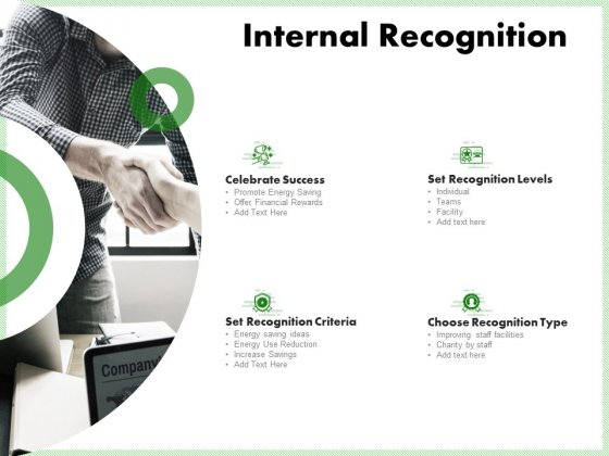 Eco Friendly And Feasibility Management Internal Recognition Icons PDF
