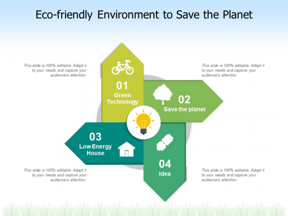 Eco Friendly Environment To Save The Planet Ppt PowerPoint Presentation File Slide Download PDF