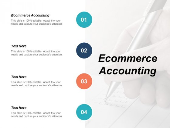 Ecommerce Accounting Ppt PowerPoint Presentation Pictures Skills Cpb
