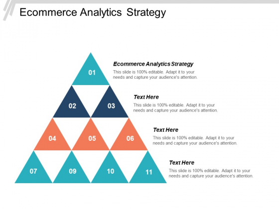 Ecommerce Analytics Strategy Ppt PowerPoint Presentation Pictures Outfit Cpb