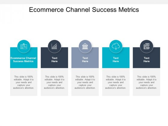Ecommerce Channel Success Metrics Ppt PowerPoint Presentation Inspiration Examples Cpb