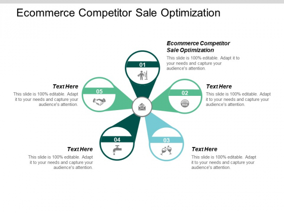 Ecommerce Competitor Sale Optimization Ppt PowerPoint Presentation Layouts Show Cpb