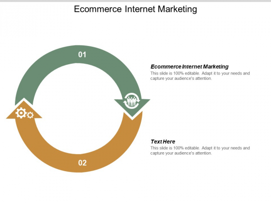 Ecommerce Internet Marketing Ppt PowerPoint Presentation Inspiration Deck Cpb