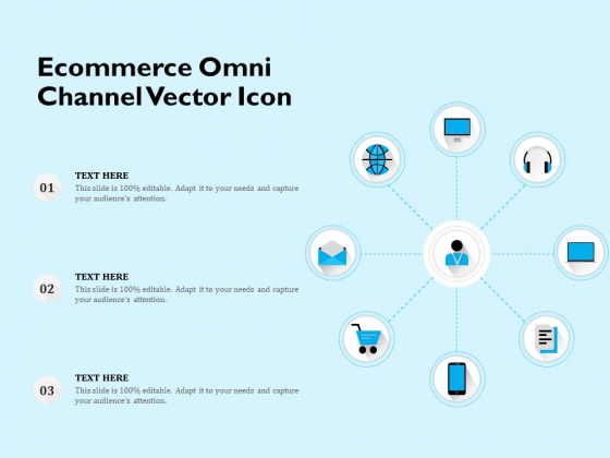 Ecommerce Omni Channel Vector Icon Ppt PowerPoint Presentation File Example PDF