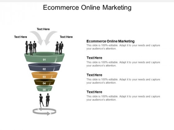Ecommerce Online Marketing Ppt PowerPoint Presentation Inspiration Outline Cpb