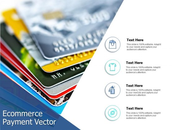 Ecommerce Payment Vector Ppt PowerPoint Presentation Summary Backgrounds