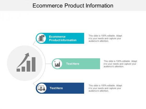 Ecommerce Product Information Ppt PowerPoint Presentation Show Introduction Cpb