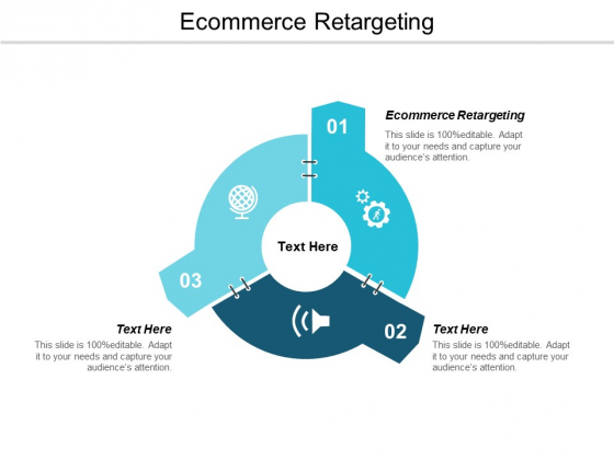 Ecommerce Retargeting Ppt PowerPoint Presentation Slides Professional Cpb