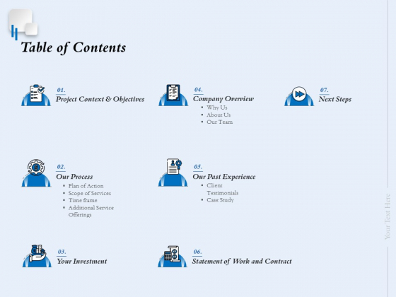 Ecommerce Web Design And Development Table Of Contents Ppt Layouts Skills PDF