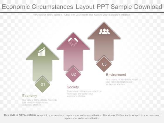 Economic Circumstances Layout Ppt Sample Download