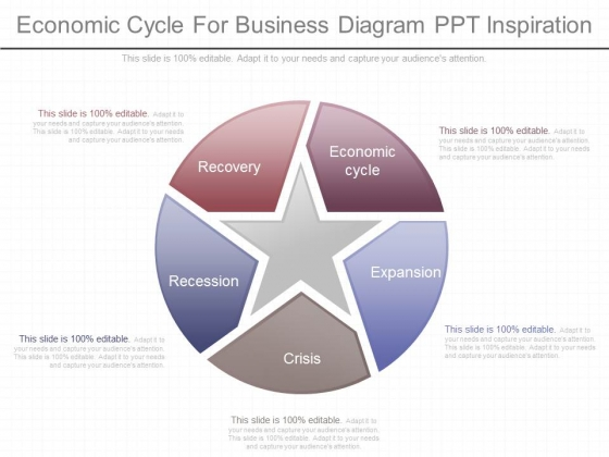 Economic Cycle For Business Diagram Ppt Inspiration
