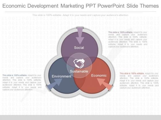 Economic Development Marketing Ppt Powerpoint Slide Themes